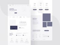 Upshift — wireframe 🌚