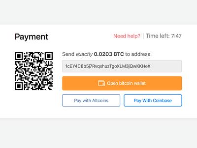 Bitcoin payment widget checkout widget payment altcoins bitcoin bitrefill