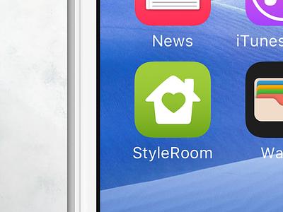 StyleRoom - Interior design app icon (wip) styleroom icon ios inspiration interior