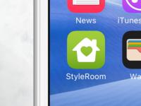StyleRoom - Interior design app icon (wip)