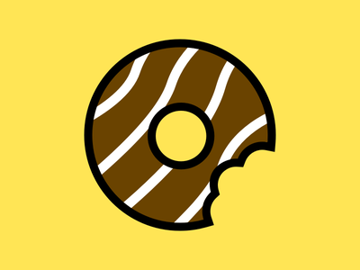🍩 chocolate magnet donut