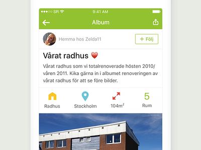 StyleRoom app: User album album home inspiration interior design app ios styleroom