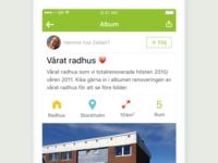 StyleRoom app: User album