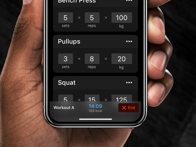 Strength app: Training² workout strong fitness strength