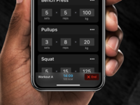 Strength app: Training²