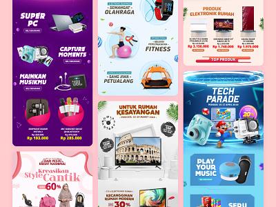 Akulaku App - Landing Page Design #1 minimal banner graphicdesign ui typography illustration graphic design design app branding