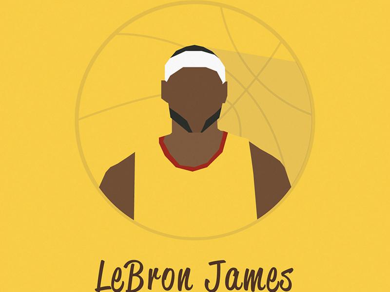 64c688b51f38 LeBron James Icon by EmilioRiosDesigns