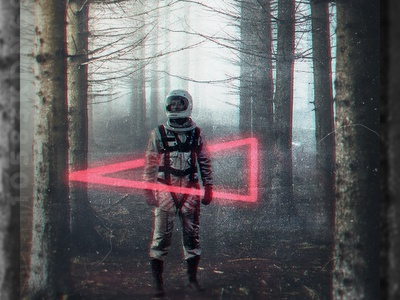 Surreal Posters photoshop astronaut space surreal poster emilioriosdesigns