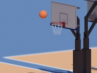 Bball Low-poly
