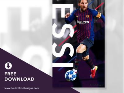 Messi Wallpaper _ FREE Download