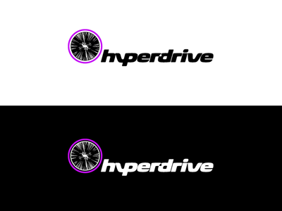 Hyperdrive identity WIP data auto gamified social mobile driving game app car logo hyperdrive