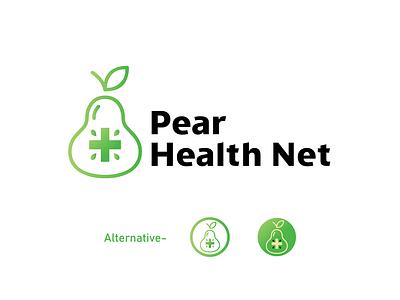 Pear Health Modern logo modern logo maker pear logo mark health care health healthcare heart modern logo logo icon logo design vector logotype graphic design concept design dailylogochallenge daily branding