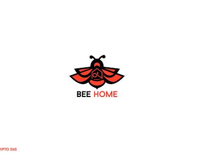 Bee Home Modern Real Estate Logo modern logodesign investment inspiration identity finance real real estate realestate logo design illustrator dailylogochallenge logotype icon logo graphic design concept design daily branding