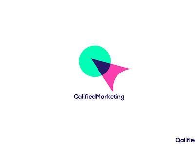 Qalified Marketing  Modern Logo brand branding design minimal brand identity agency branding quality agency marketing digital modern dailylogochallenge logo design logotype illustrator icon logo graphic design concept design branding