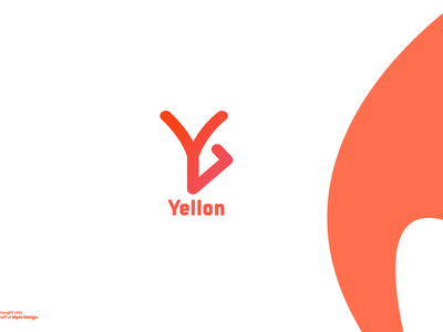 Yellon branding design modern design app marketing branding y letter logo logo design brand identity marketing marketing agency abstract logo logotype dailylogochallenge modern modern logo vector icon logo graphic design concept design branding
