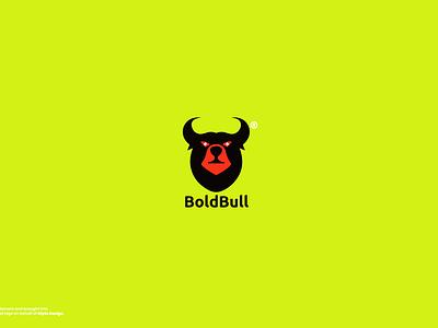 Bold Bull (Bear+Bull) Modern Logo Branding brand design logo design branding black red logo creationn bear logo brand brand identity bull bear modern logotype logo design icon logo daily graphic design concept branding design