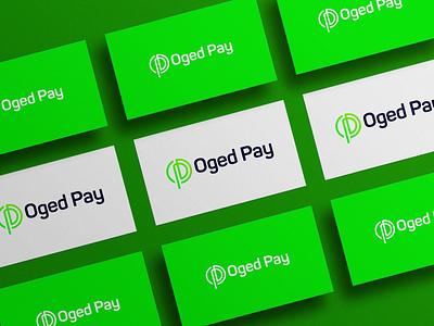Oged Pay Fintech Brand identity Design bank invesment money logo design payments icon logomark logotype modern fintech logo vector illustration daily graphic design branding concept design