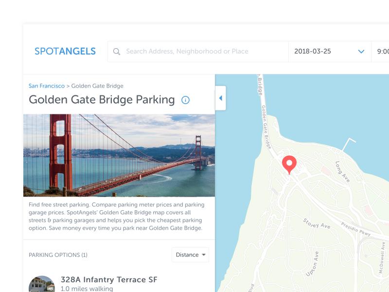 Parking map website web website spotangels navigation map parking map parking map