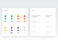 Color and text - Spotangels Design System
