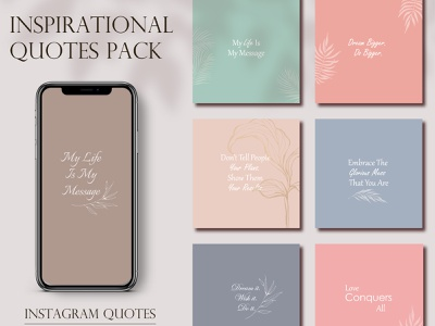 Instagram Motivational Quotes instagram stories inspirational quotes motivational quotes instagram design instagram banner ready to use insta instagram template illustration instagram post
