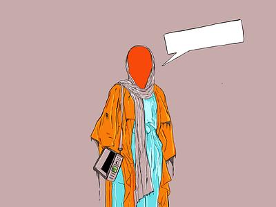 Doodle futurism fiction procreate graphic artwork illustration