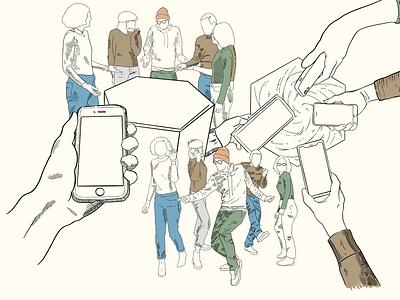 High Fidelity Storyboard storyboarding art design graphic artwork illustration