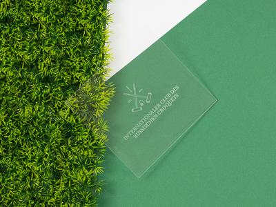 Internationaler Club des Russischen Croquets corporate design branding logo