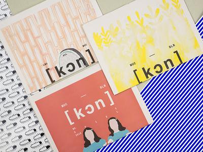 [kon] Paper branding literature layout newspaper editorial