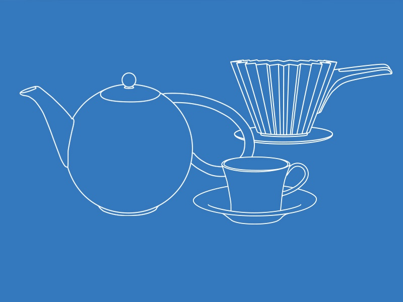 KPM Coffee Illustrations illustrations branding packaging