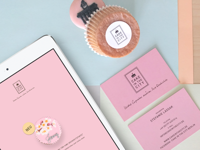 Cake in the City corporate identity branding graphic design webdesign rebranding corporate design