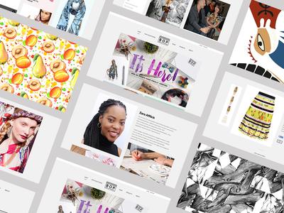 Box of Prints - eCommerce Website