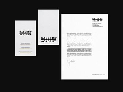 Branding - Ballers Football Academy
