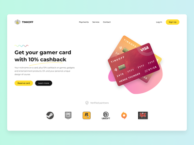 Banking website simple clean tinkoff bank card bank fintech finances web landing page banking website webdesign userinterface design interface ux ui