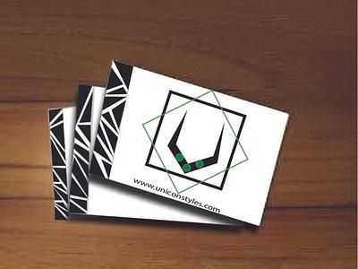 business card unicorn