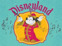 Disneyland Orchestrum Dribbble