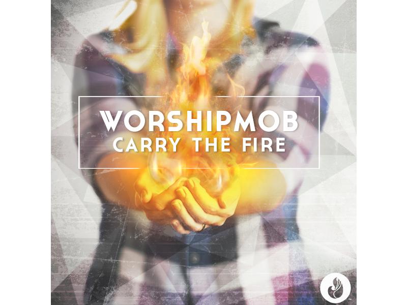 Worshipmob Dribbble album art worshipmob packaging
