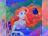 Ariel Meets Dory