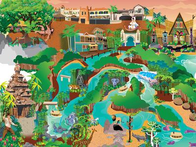 Adventureland Dribbble