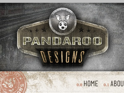 New portfolio portfolio pandaroo grunge grungy textures red brown gray