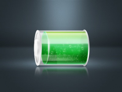 Battery battery green
