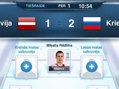Hockey hockey game nhl championship player add score scoreboard white blue