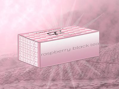 T Time raspberry black tea raspberry tea thé raspberry packaging design color pink tea package tea packaging package packaging branding brand designer graphique logo design logo design graphique designer portfolio graphic design graphic designer design