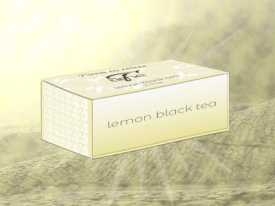 T Time lemon black tea thé tea package tea package tea packaging lemon tea citron lemon emballage branding brand logo design designer graphique logo design graphique designer portfolio graphic design graphic designer design