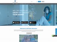 Virtue Money Website Concept