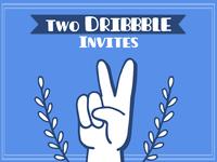 x2 Dribbble Invites