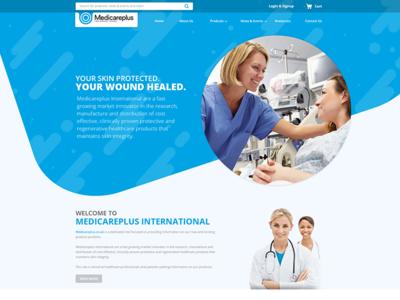 Medi Care Plus Website