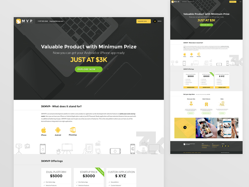 Landing Page Website package design graphics website web web page design web page landing ux ui landing page