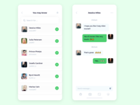 Chat Screen App Design