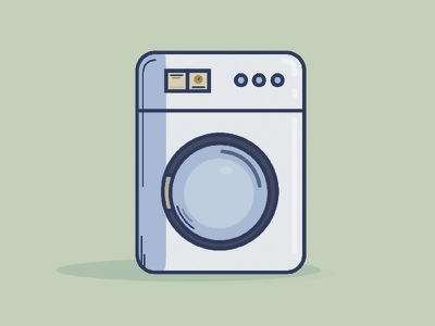 Washer Icon shapes vector icon washer