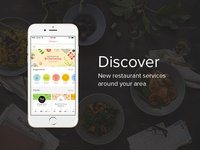 Redesign Explore Tab for Food Delivery App